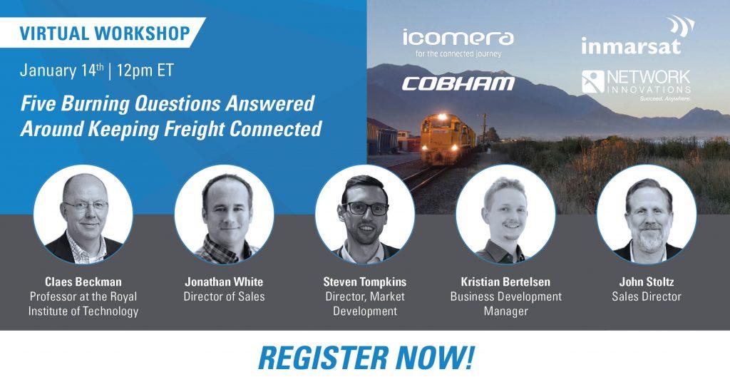 Rail Webinar with Speakers