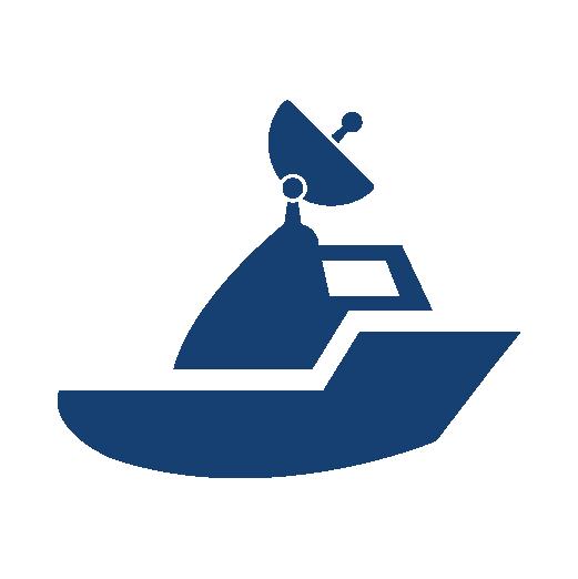 Satellite Maritime VSAT Icon